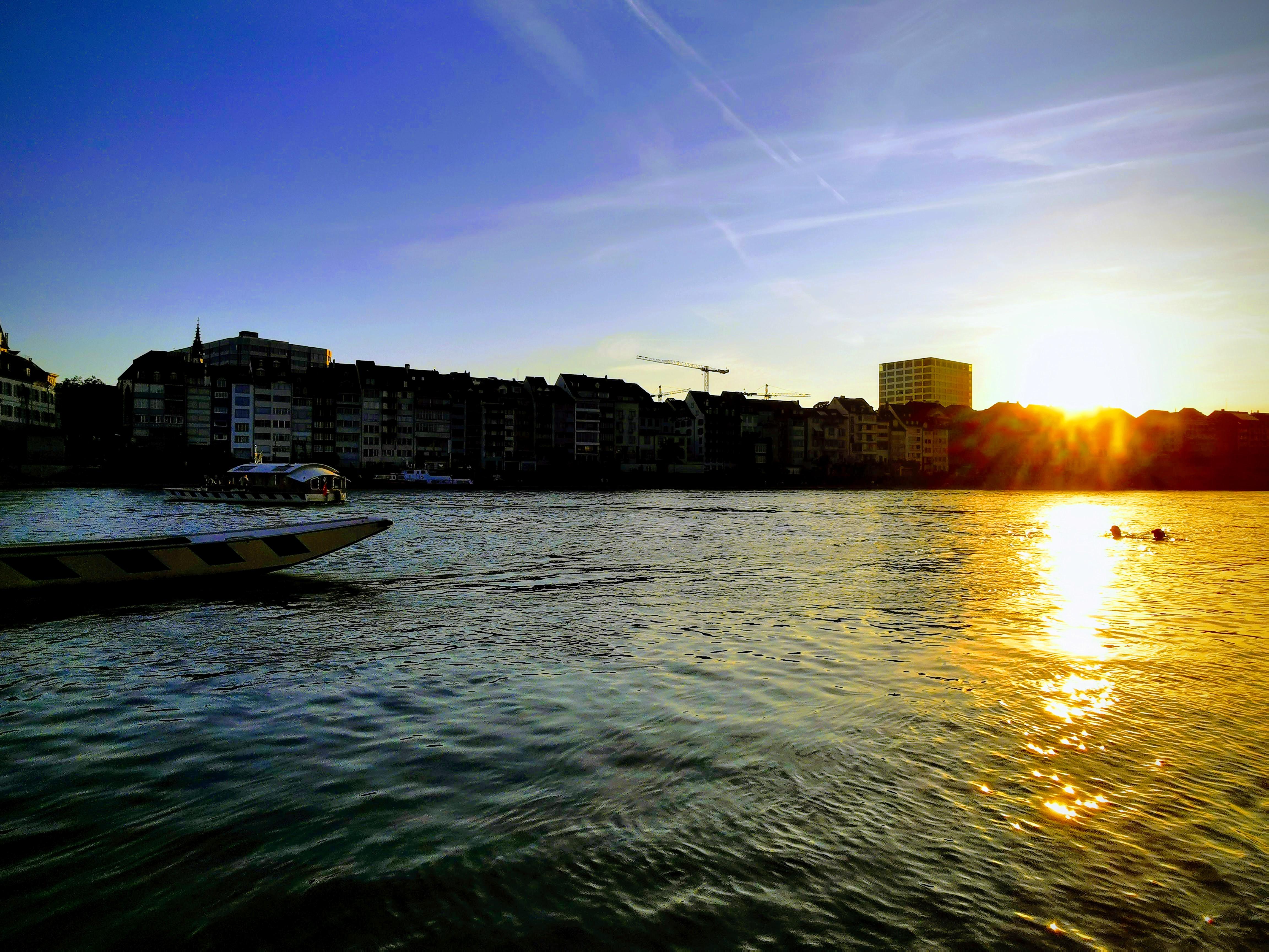 Sunset in Basel